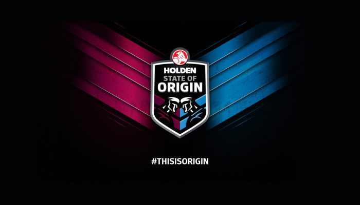 NRL // STATE OF ORIGIN 2016 BRANDING